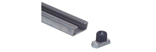 C-Tragschienen für leichte Baureihe, DIN 3015 T1