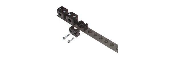 Reihenanschweißplatten für leichte Baureihe, DIN 3015 T1