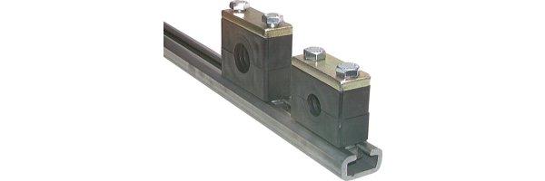 C-Tragschienen für schwere Baureihe, DIN 3015 T2