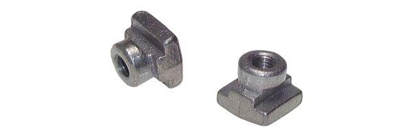 Tragschienen-Muttern für schwere Baureihe, DIN 3015 T2