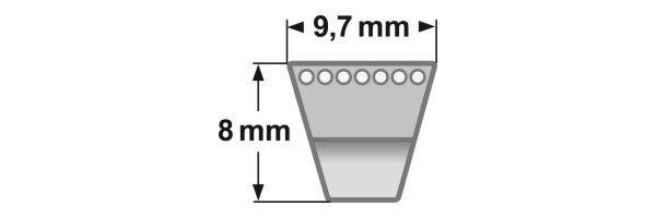 Gates Schmalkeilriemen Super HC MN - Profil SPZ MN