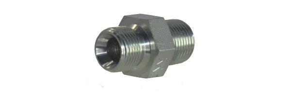 Hochdruck-Doppelnippel mit G-Gewinde / NPT Gewinde, bis 800 bar