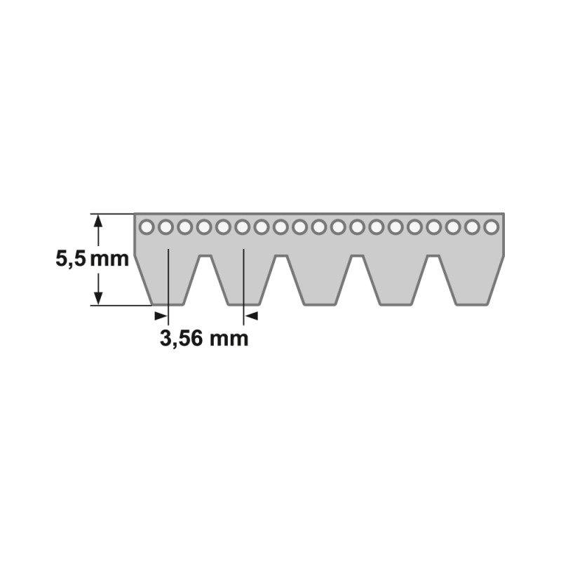 266 K Poly-V Riemen Keilriemen Keilrippenriemen 3 PK 675 mm