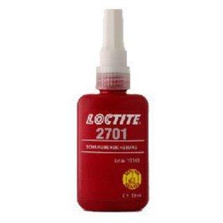 Loctite 2701 Anaerobe Schraubensicherung, 50 ml, hochfest Gewindesicherung bis M20