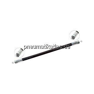 Hydraulikschlauch 2 SN, DKO / DKO 15 L (M 22 x 1,5), 600mm