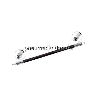 Hydraulikschlauch 2 SN, DKO / CEL 8 L (M 14 x 1,5), 1.600mm