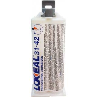 Loxeal 31.42 2-Komponenten Klebstoff 50 ml Doppelkartusche Epoxidharz Kleber
