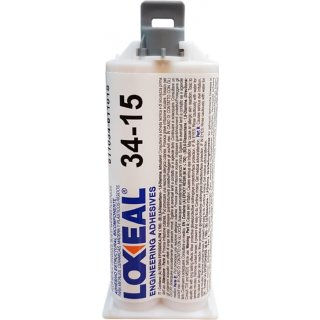 Loxeal 34.15 2-Komponenten Klebstoff, 50 ml Doppelkartusche Epoxidharz Kleber