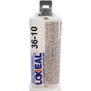 Loxeal 36.10 2-Komponenten Klebstoff, 50 ml Doppelkartusche Epoxidharz Kleber