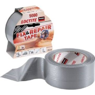 Loctite 5080 Klebeband, extra stark, 25 Meter Fix and Repair Band Panzerband