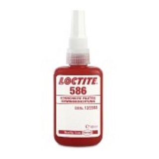 """Loctite 586 Anaerobe Gewindedichtung 250 ml, hochfest Dichtung bis Gewindegröße 2"""""""