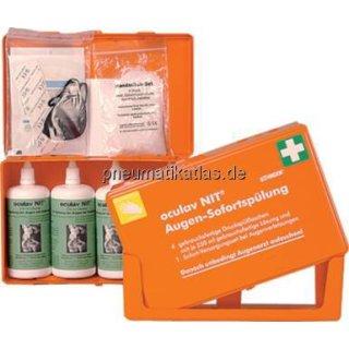 Augenspülung, Flaschenhalterung für 250 ml D