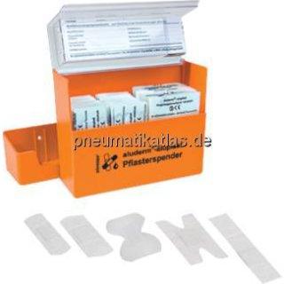 Pflasterspender aus ABS- Kunststoff, 160 x 122 x 57 mm,