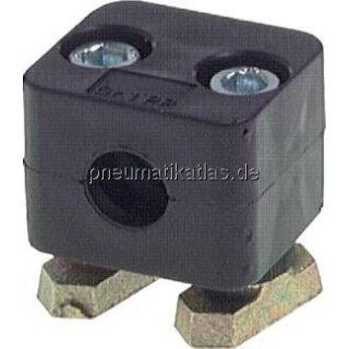 Rohrschelle, leichte Baureihe, 8mm, Baugröße 0 (nur eine seit