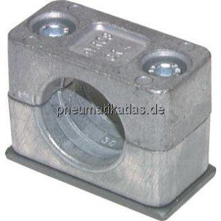 Rohrschelle, leichte Baureihe, 8mm, Baugröße 1