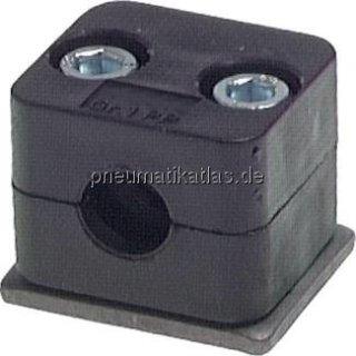 Rohrschelle, leichte Baureihe, 16mm, Baugröße 2